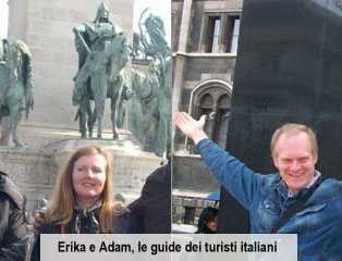 Erika and Adam tour guides